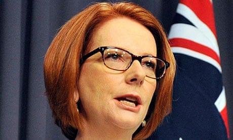 Former Prime Minister of Australia Julia Gillard