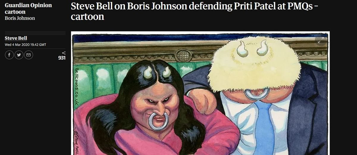 The Guardian Cartoon that has created controversy