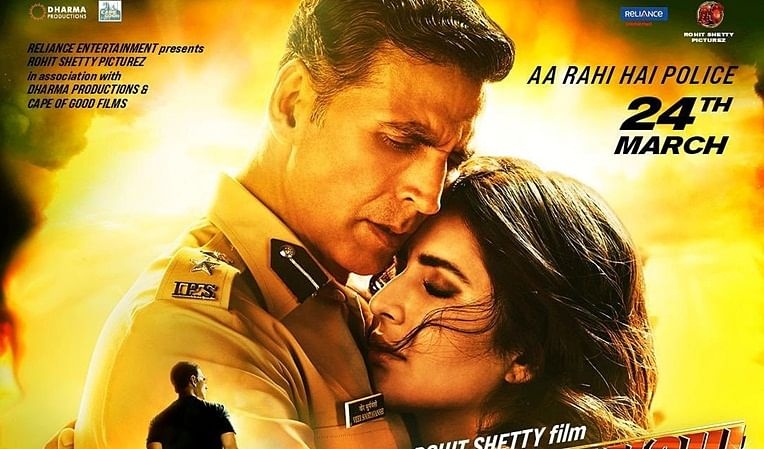 Katrina Kaif shares captivating new poster from Akshay Kumar's cop drama 'Sooryavanshi'