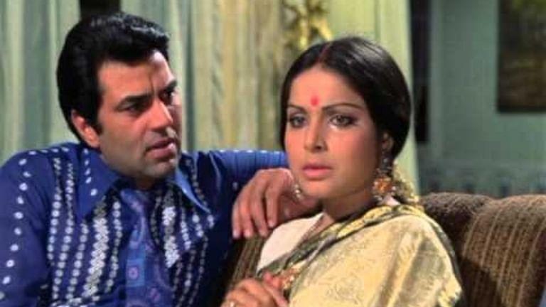 When Dharmendra, Rakhee ran into a crocodile while filming 'Jeevan Mrityu'