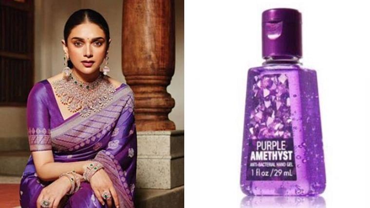 Coronavirus: This Twitter thread has hand sanitisers inspired by Aditi Rao Hydari's couture!