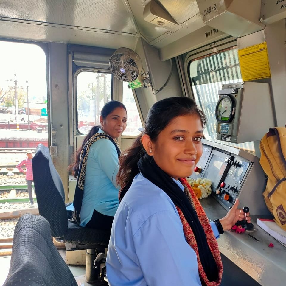 International Women's Day 2020: The first women loco pilots of Ratlam division, chugging successfully to conquer male bastion