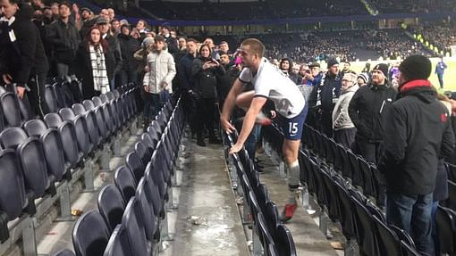 Tottenham vs Norwich: Eric Dier jumps into stands to confront fan after racist abuse in the FA Cup fixture