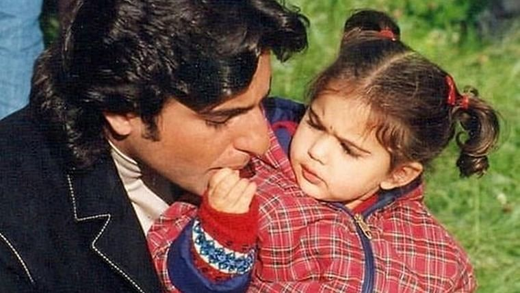 Childhood picture of Sara Ali Khan sporting pigtails while feeding her dad proves she's always been adorable