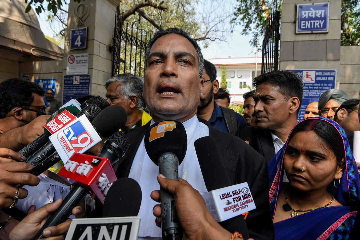Who is Advocate AP Singh and why is #NirbhayaBetrayed trending on social media?