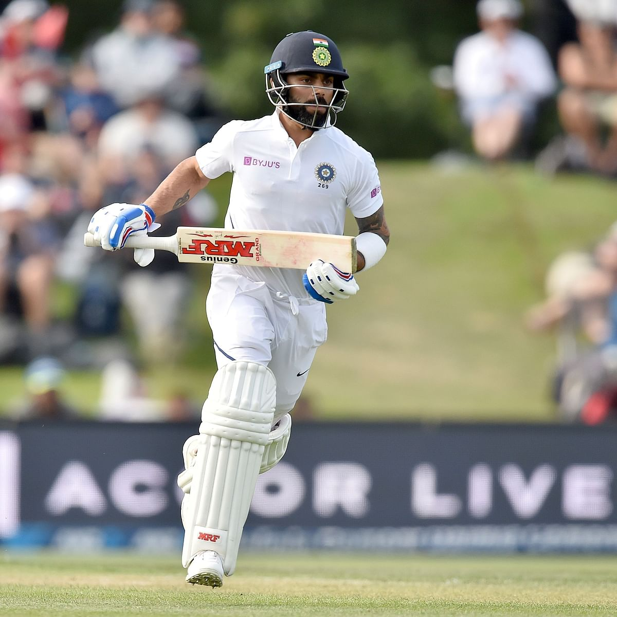 When bat does not do the talking, Kohli does