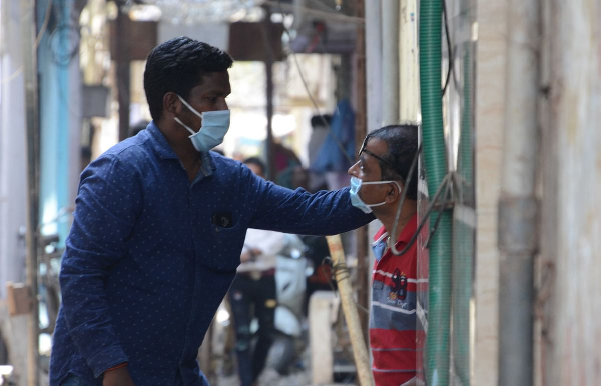 Coronavirus in Mumbai: Saki Naka social worker aims to dispel corona fears