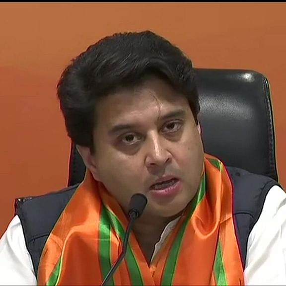 I have a certain level: Jyotiraditya Scindia hits back at Rahul Gandhi's backbencher remark
