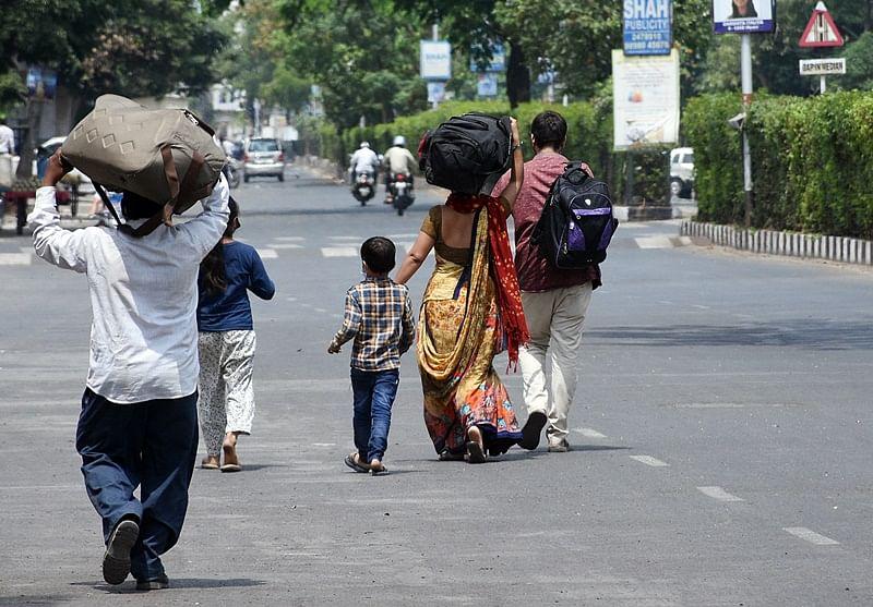 Coronavirus news in Madhya Pradesh: Youth cover 250 km on foot, reach Bhikangaon