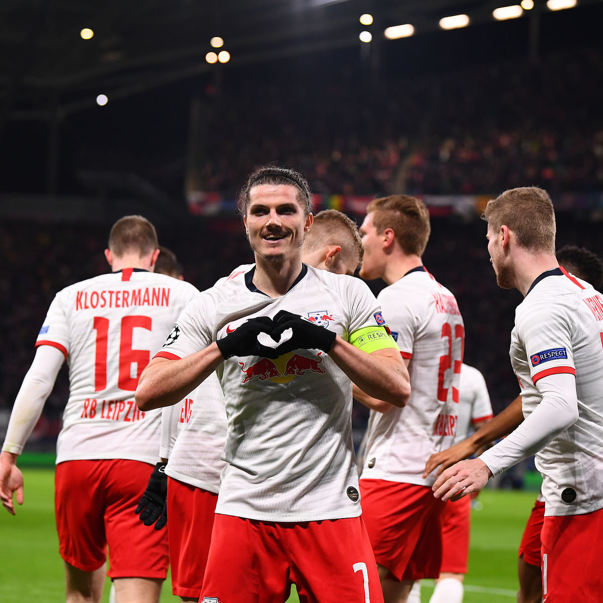 UEFA Champions League: RB Leipzig thrash Mourinho's Tottenham 3-0 to reach quarter-finals