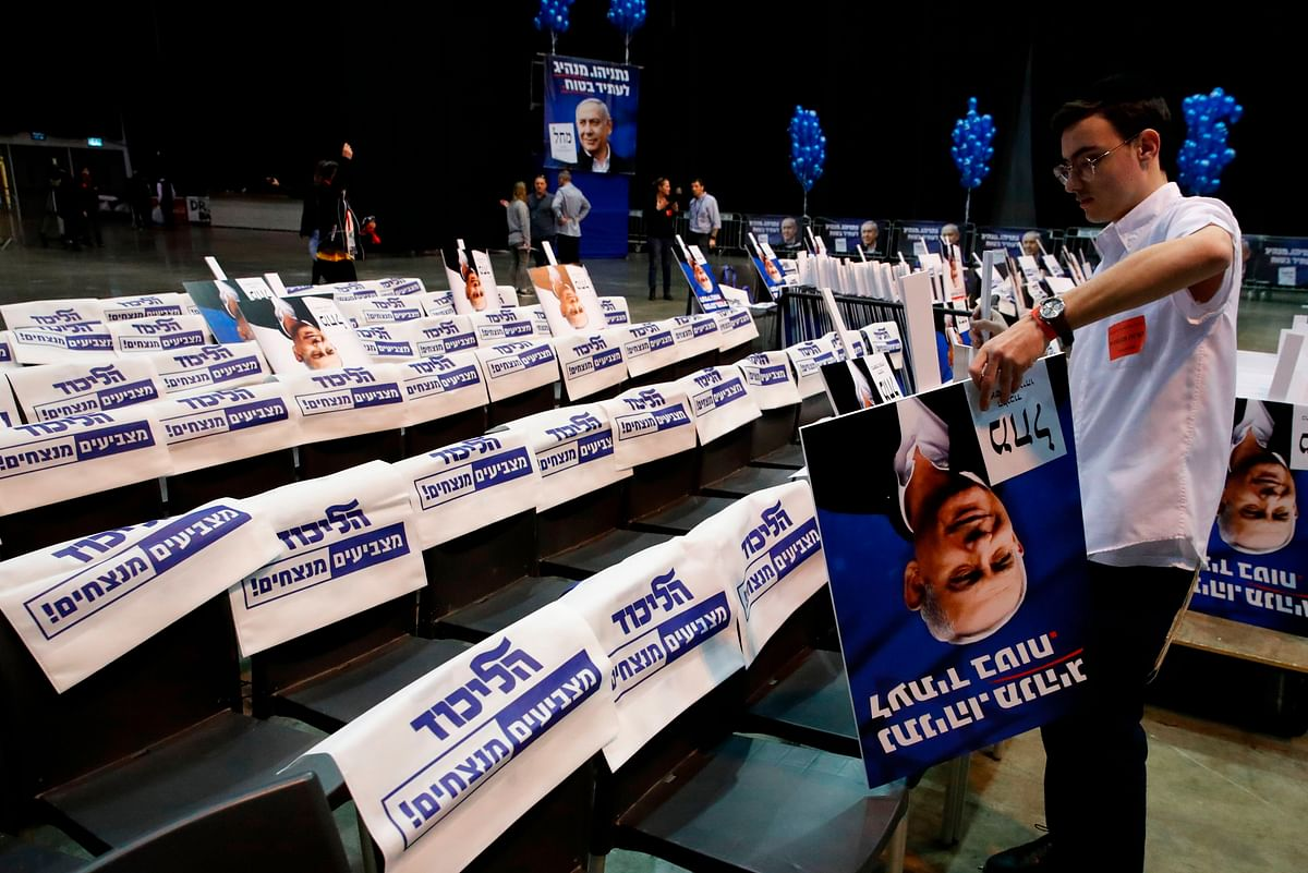 Israel votes for third time for parliamentary elections in a year