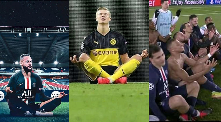 UEFA Champions League: Neymar, Mbappe brutally mock Haaland after PSG knock out Dortmund