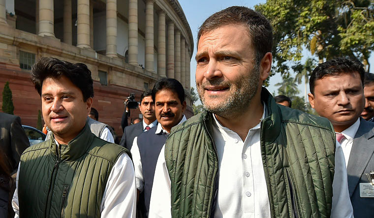 'He could walk into my house anytime...': Rahul Gandhi after his Lok Sabha wingman Scindia joins BJP