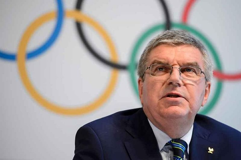 Cancellation of Olympics not on agenda, decision on timing to be made soon, says IOC chief Thomas Bach