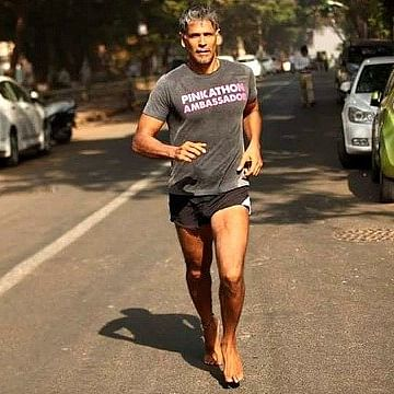 Milind Soman runs afoul of the moral police time and again