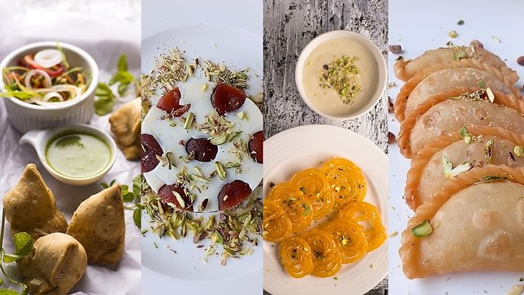 Holi 2020 Recipes: Gulab Jamun Mousse, Chilli Cheese Samosa, Gujiya, Puran Poli and more