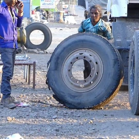 International Women's Day 2020: Plugging holes through puncture repair, meet 45-year old Maina Solanki aka Ustad ji from MP