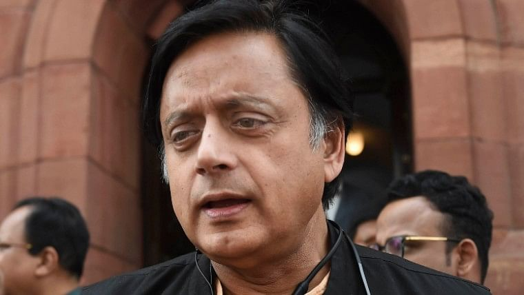 Twitter can't keep calm over Shashi Tharoor's super pink Women's Day 2020 greetings