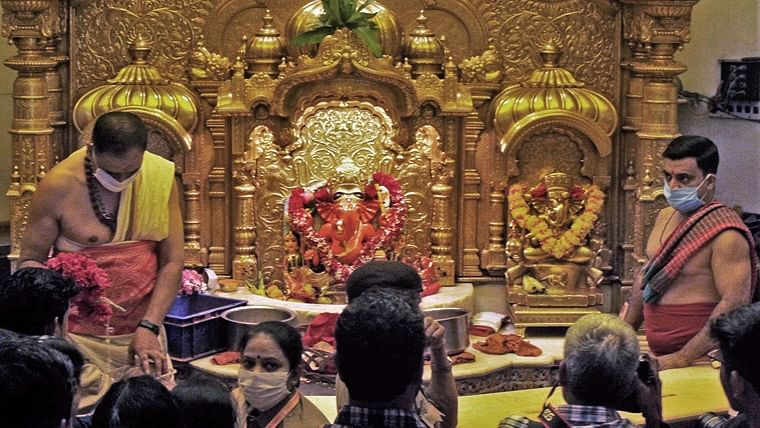 Siddhivinayak temple in Mumbai