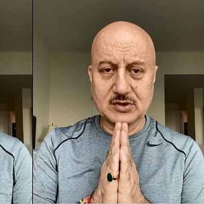 Amidst coronavirus outbreak, Anupam Kher encourages people to say 'namaste' instead of shaking hands