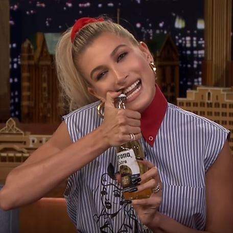 Hailey's 'beer bottle trick' made Justin Bieber call her and reconcile