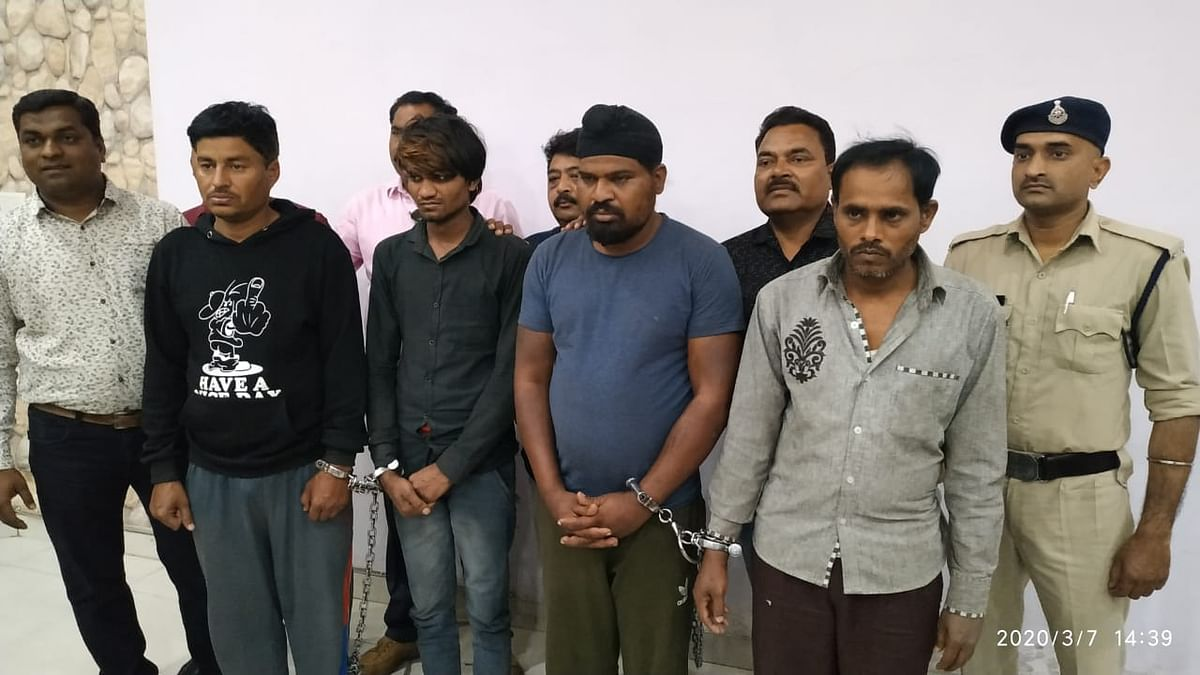 Indore: 4 thieves of inter-state gang  arrested, goods worth Rs 13.75 lakh seized