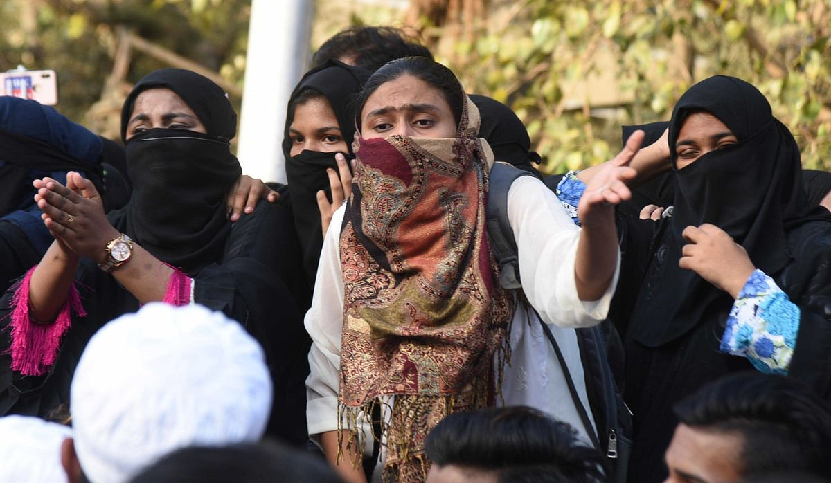 Mumbai in Pics: NRC CAA protestors at Nagpada