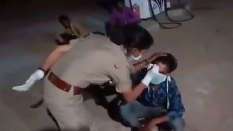 Shocking: MP Police writes on migrant's forehead 'I violated lockdown orders, stay away from me'
