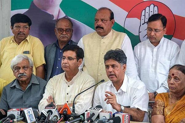 Congress seniors break a habit, push for transparent elections