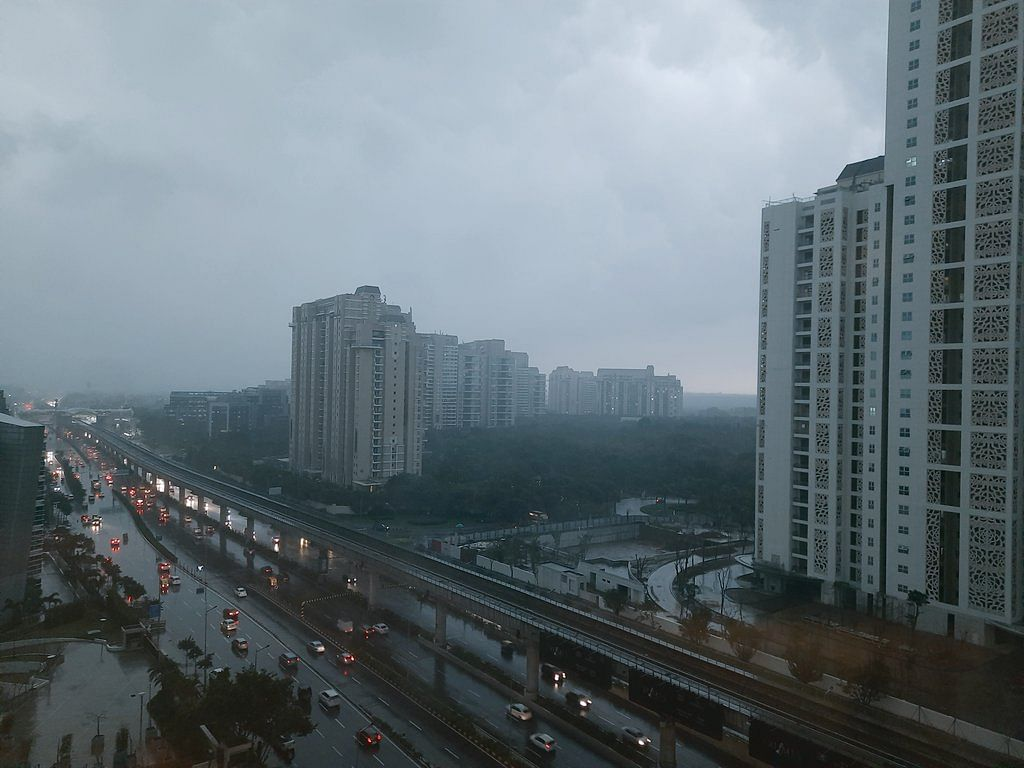 Delhi Weather Update: Heavy rains and thunderstorms hit NCR; flight departures and arrivals to be affected