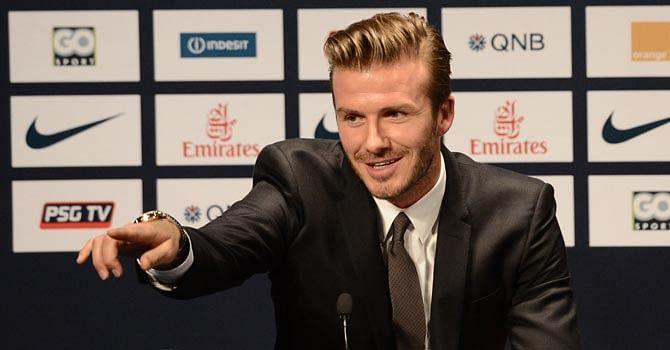 David Beckham thanks 'brave' healthcare workers in fight against coronavirus