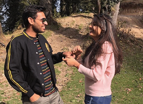 Bhuvi and his wife