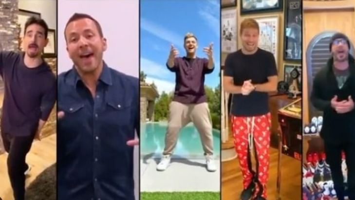I Want It That Way: This BackStreet Boys Quarantine reunion is everything we ever wanted