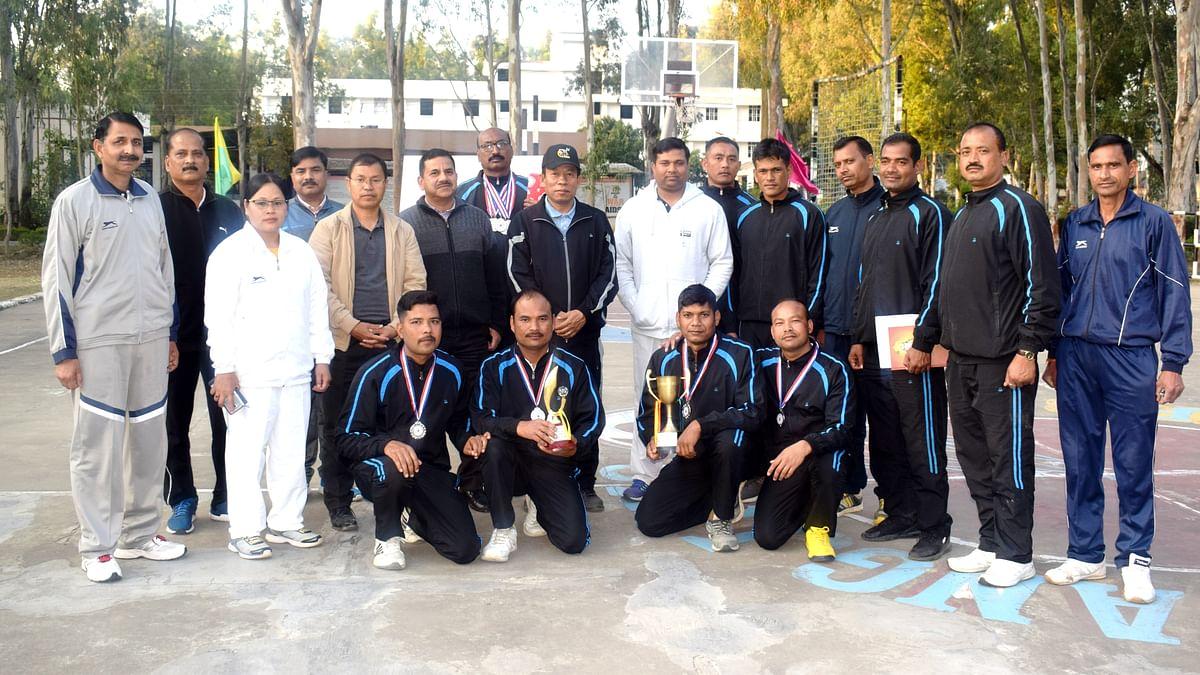 G.C CRPF Imphal hosts Inter GCs Aquatic and Cross Country Tournament-2020