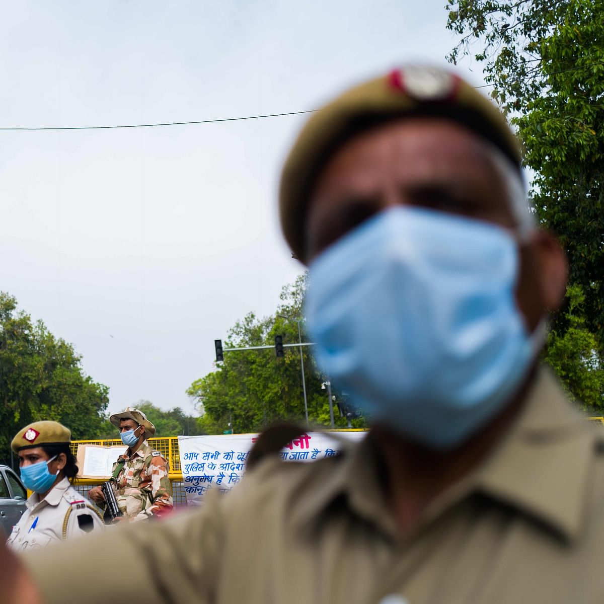 Bhopal: Stressed from duty hours, constable consumes sanitizer
