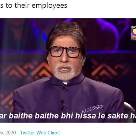 Twitter thread with 'Kaun Banega Crorepati' memes explains coronavirus lockdown better than PM Modi