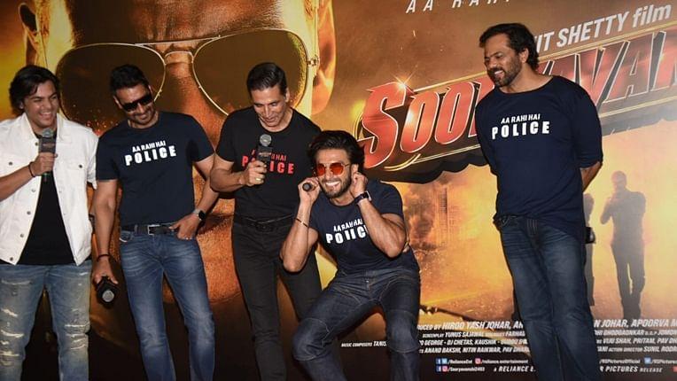 'Sooryavanshi' trailer launch: Ranveer Singh blames Deepika for being late, gets schooled by Akshay Kumar