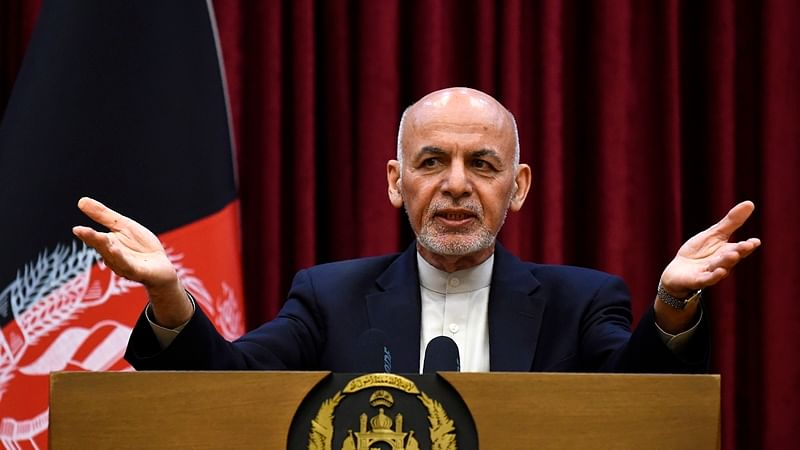 Afghan President Ashraf Ghani also called on the Taliban for a ceasefire and to return to the political process