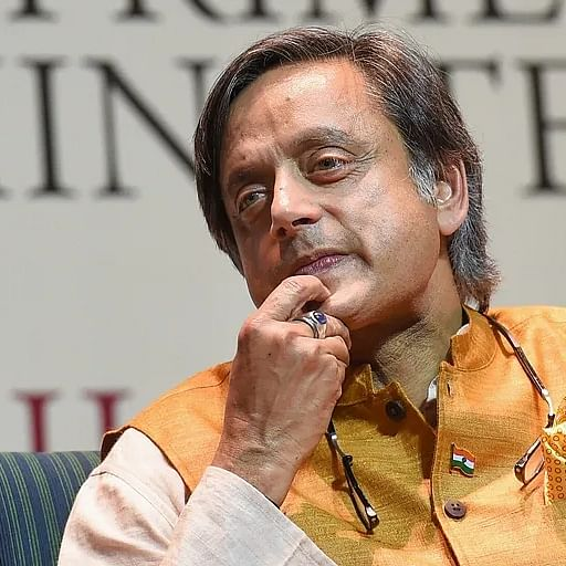 BJP MP and Shashi Tharoor at each other's throats