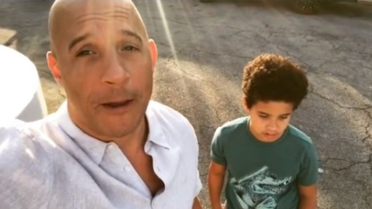 Vin Diesel's son says coronavirus is 'helping us in more ways than it's hurting us'