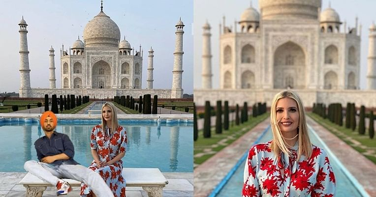 Diljit Dosanjh Shares Photoshopped Pic With Donald Trump S Daughter Ivanka Her Reply Wins Hearts