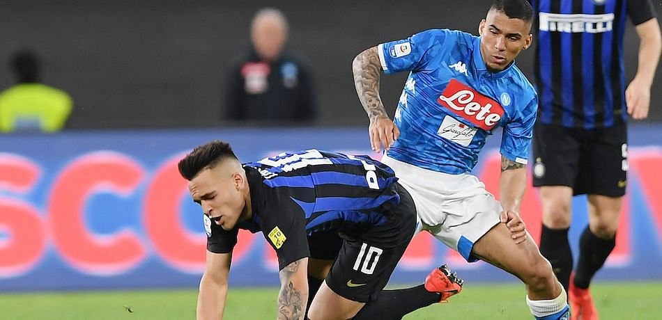 Napoli v Inter Milan Italian Cup semi-final postponed over virus fears