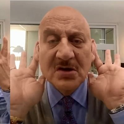 'Dedicated to all the Baldies': Anupam Kher's satirical song leaves Twitter in splits