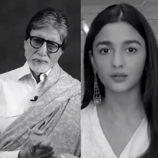 Watch: CMO declares war on coronavirus with video featuring Amitabh, Alia, Akshay and other B-town celebs