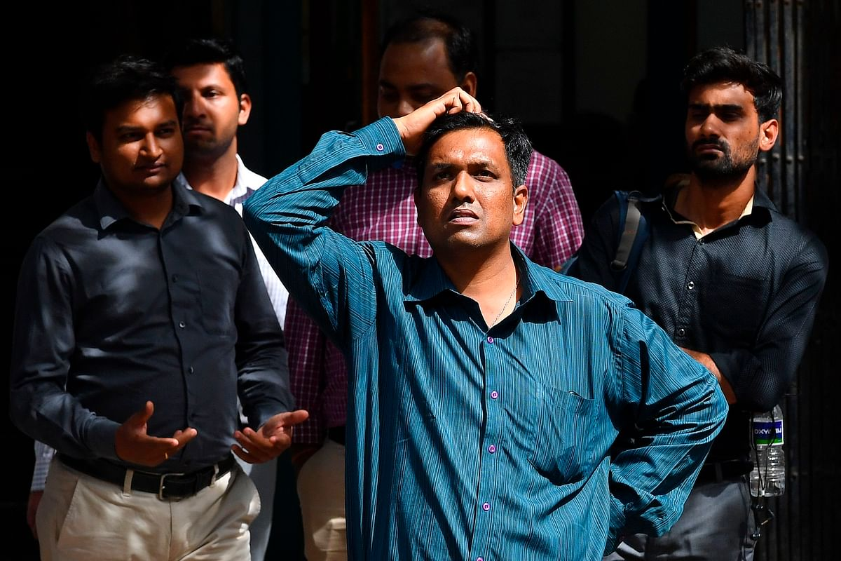 Market Update: 45-minute halt after morning crash doesn't help; Sensex plummets by 3,200 points