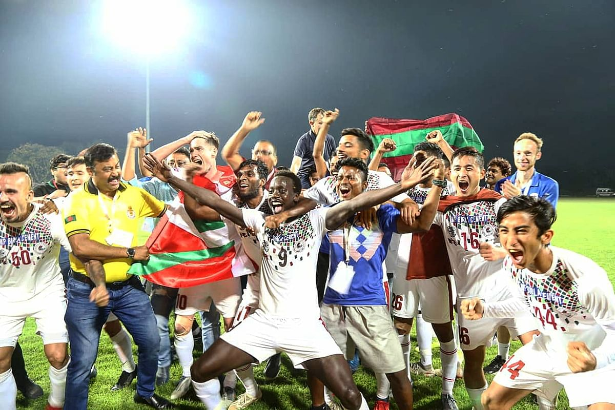 I-League 2019/20: Mohun Bagan emerge champions after edging out Aizwal FC