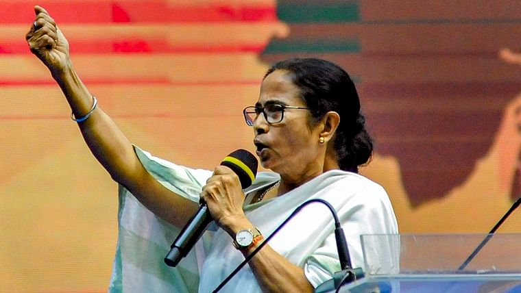 'Those who come from Bangladesh and vote are Indian citizens': Mamata hits out at Modi govt