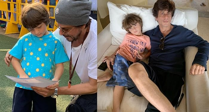 Shah Rukh Khan shares sketch made by son AbRam, pens an emotional note