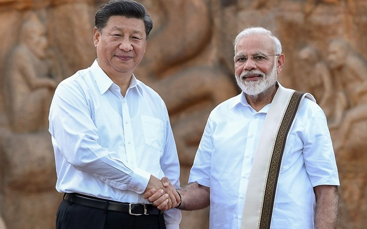 PM Modi and Chinese Premier Xi Jinping