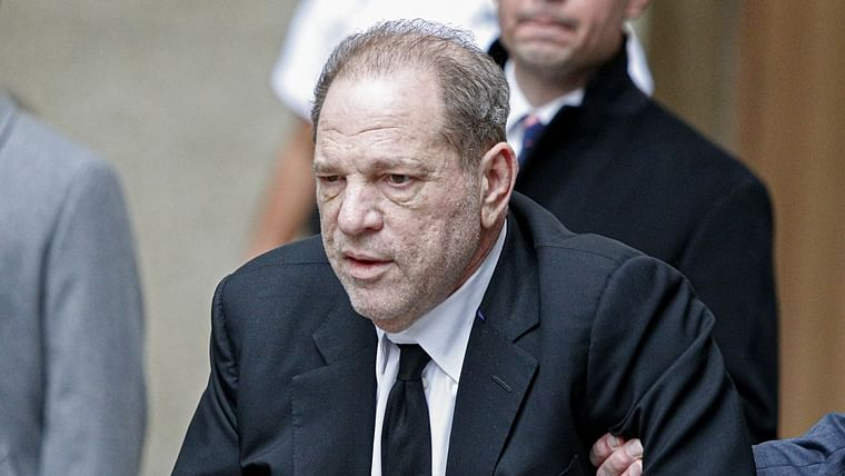 Harvey Weinstein tests positive for coronavirus in prison